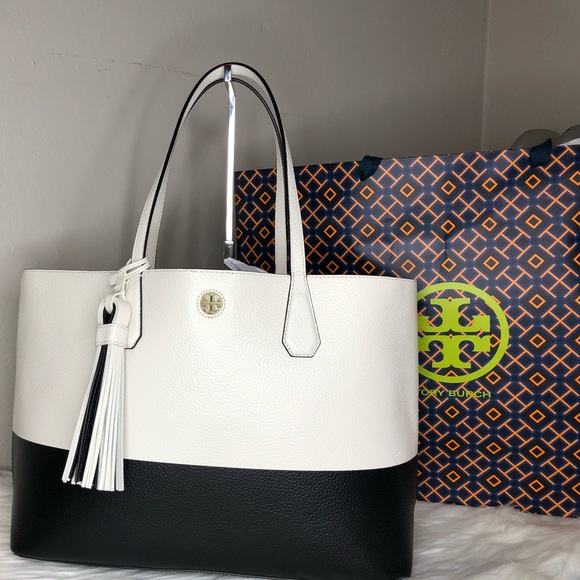 9f5c5ae6d73 Tory Burch color block Perry tote